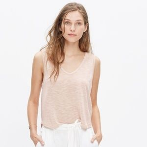 Madewell Anthem Crop Tank